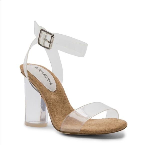 7e1ddc8c82f Jeffrey Campbell Shoes - Jeffrey Campbell Twelve Heels in Clear